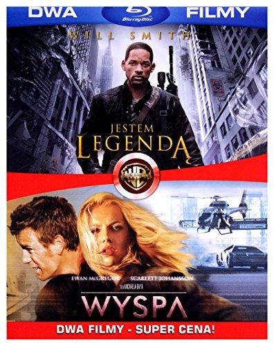BD 2 PACK JESTEM LEGENDA/WYSPA (2 BD) Blu-ray-hd-dvd-brenner
