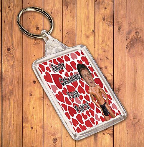 Preisvergleich Produktbild Funny/Rude Geschenk Sexy Hunk Schlüsselanhänger–für die Paul McCartney Admirer