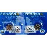 Renata 377Swiss Made Silber-Oxid Knopfzelle SR626SW