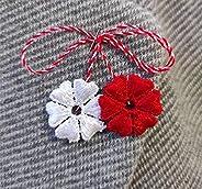 Martisor, Martenitsa, Martisoare. Baba Marta. Spring amulet.