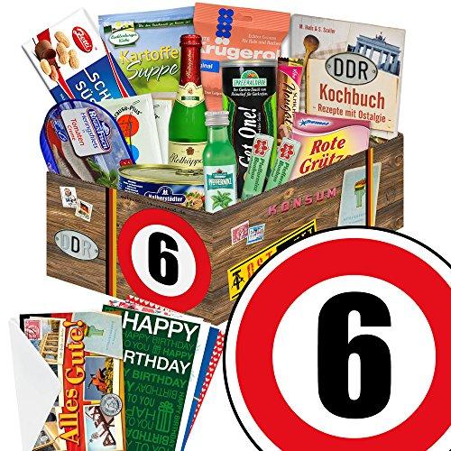 henk für Frau + DDR Präsentkorb mit Traditionsartikeln mit Geschenkverpackung