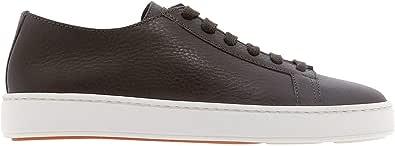 Santoni Luxury Fashion Uomo MBCN21332BARCT0VT50 Marrone Pelle Sneakers | Ss21