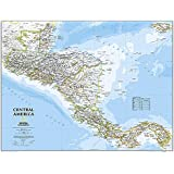 Central America Classic, tubed Wall Maps Countries & Regions: NG.P620011 (Reference - Countries & Regions)