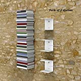 #5: INDIAN DECOR Metal Invisible Shelves(White, 150x150x125mm)