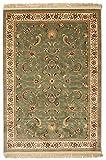 RugVista Sarina - grün Teppich 140x200 Orientalischer Teppich