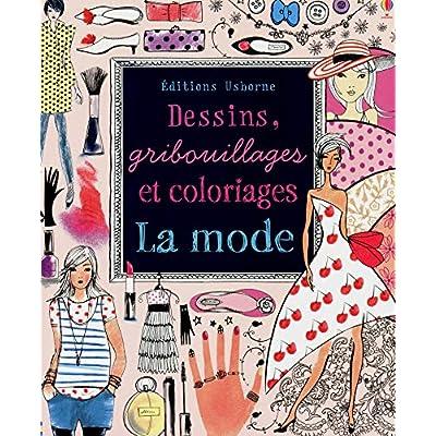 La mode - Dessins, gribouillages et coloriages