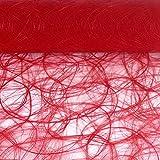 Sizoweb Tischband Rot 5 Meter lang 30cm breit