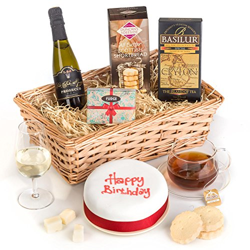 Hay Hampers Birthday Cake Celebration Hamper Basket