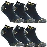 6 Pairs Caterpillar CAT Men's Works Socks