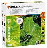 Gardena 2708Aquacontour Automatische Voll verstellbar Große Fläche Underground Sprinkler Set
