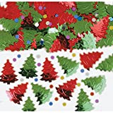 Christmas Confetti Table Sprinkles Christmas Trees Tableware Decorations