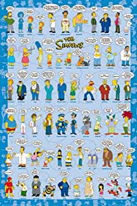 Empire 327369 The Simpsons, The - Sprüche - TV Serie Poster Plakat - 61 x 91.5 cm
