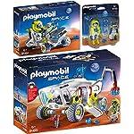 Playmobil® Space 3pcs. Set 9489 9491 9492 Mars Exploration Vehicle + Trike + Astronaut with Robot