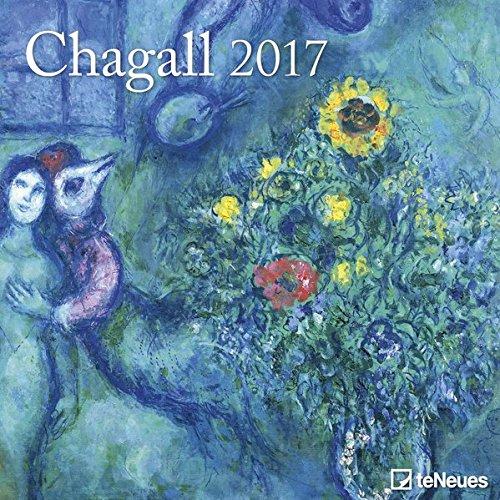 2017 Chagall Calendar - teNeues Grid Calendar - Art Calendar - 30 x 30cm por Marc Chagall