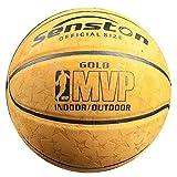 Senston Adulto Pelota de baloncesto Outdoor Balón de baloncesto para adultos...