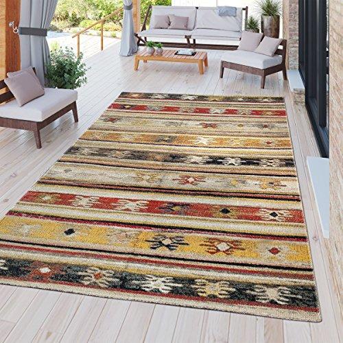 Tt home tappeto moderno da esterni, resistente alle intemperie, adatto ad ambienti interni ed esterni, design nomade,, größe:80x150 cm