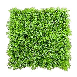 Planta artificial – SODIAL(R)Planta de hierba verde acuatica agua falsa artificial Cesped Paisaje de acuario