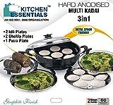 Kitchen Essential Hard Anodised Multi Ka...