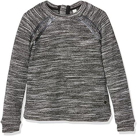 ESPRIT Mädchen Sweatshirt Sweat Shirt, Grau (Light Heather Grey 221), 152 (Herstellergröße:M)