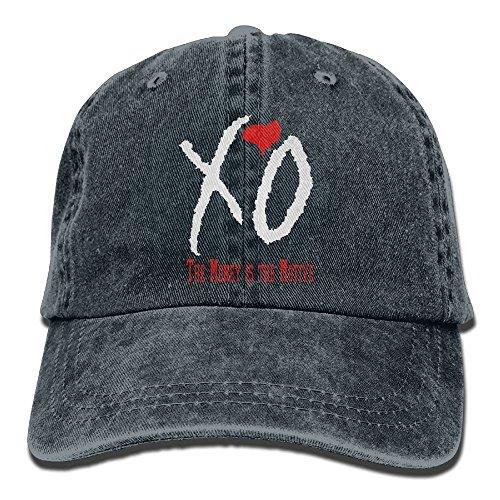 Nifdhkw Verstellbarer Denim-Baseball-Mütze für Erwachsene Unisex XO Unisex43