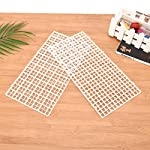 Wetrys 6 Pcs Grid Divider Tray Isolate Board Fish Tank Bottom White Filter Tray Aquarium Crate 8