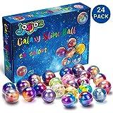 Joyjoz Slime Kit da 24 Confezioni di Slime Stucco Galaxy, Palline di Slime Metallizzato, allungabile, Morbido per Feste per Bambini e Adulti