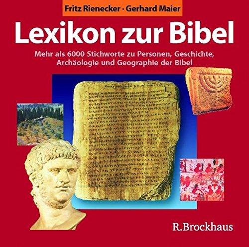 Lexikon zur Bibel. CD-ROM für Windows ab 95. Mehr als 6000 Stichwörter