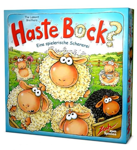 Zoch 601126300 - Haste Bock, Familienspiel