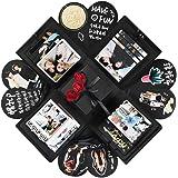 YITHINC Caja de Regalo DIY Álbum de Fotos Hecho a Mano,Creative Explosion Box como Regalo de Cumpleaños y Caja de Sorpresa so