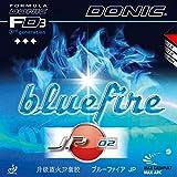 Tischtennis Belag Donic Bluefire JP02, 2.00 mm, schwarz