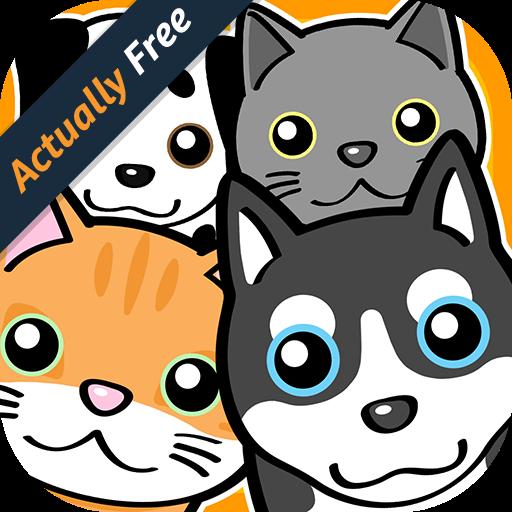 Neko & Doggie Dojo - My Dear Mini Smart Pets Choice Games (Doggie Diary)