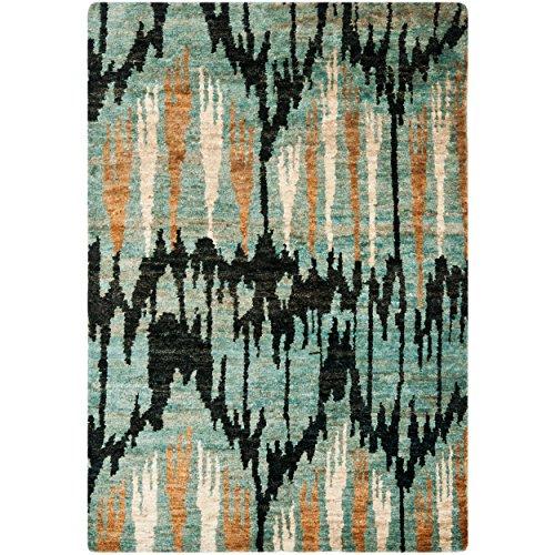 Safavieh Salt handgeknüpfter Teppich, TMF331A, Pewter Clay, 121 X 182  cm