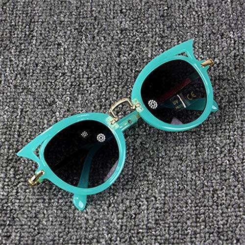 Sonnenbrille Cute Baby Cat Eye Sonnenbrille Kids Tier Cartoon Uv 400 Sonnenbrille Kinder Brillen Gläser Für Mädchen & Jungen Geschenk Grün