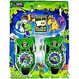 Ben 10 Alien Force Omnitrix Walkie Talkie For Kids - 2 Pcs - Battery Not Included