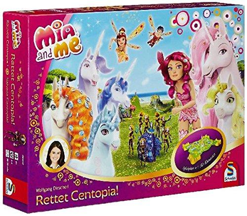 *Schmidt Spiele 40517 – Mia und Me, Rettet Centopia! – Kinderspiel*