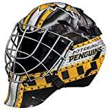 Franklin Sports Eishockey-Sammelartikel Torwart-Helm Mini, Design: Logo Einer NHL-Mannschaft, Unisex, 7784F19, Pittsburgh Penguins
