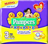 Pannolini Pampers Quadripack Progressi Maxi x96