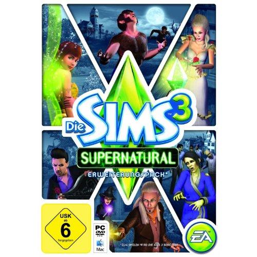 Die Sims 3: Supernatural (Kinder Spiele Für Halloween-computer)