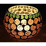 Table Décor Round Glass Candle Holder Modern