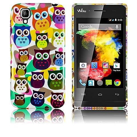 Coque De Wiko Goa - Wiko GOA Etui en silicone LITTLE OWL