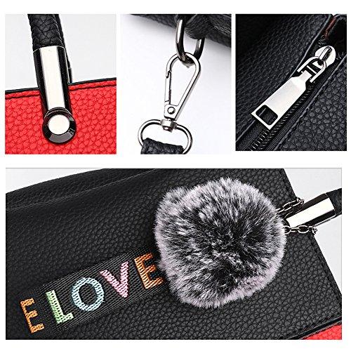 Ruiren Multifunktions Bunte Reise Shopping Soft Bag Portable Umhängetasche Frauen Messenger Bags Frauen Geldbörse Schultertasche Dunkelblau