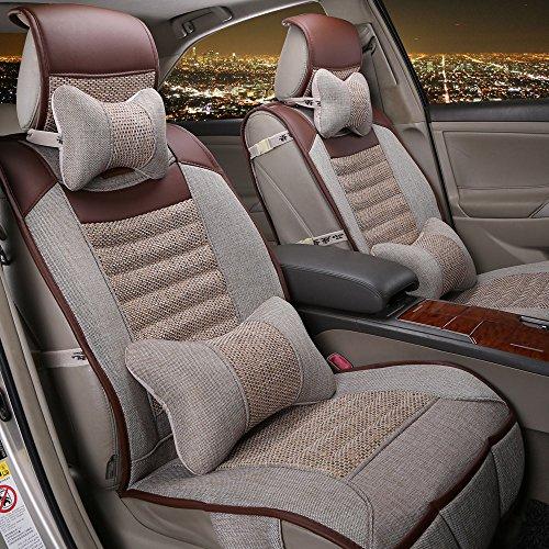 Preisvergleich Produktbild TT Autositzbezüge Gesundheit leinwand elegant Luxusmodelle Auto Sitzkissen Four Seasons General Motors ,  beige
