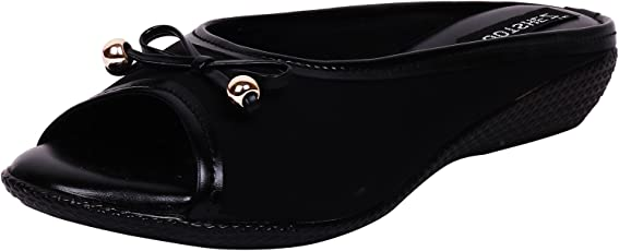 Footshez New Arrival Best Hot Selling Women's Black Casual Flats Low Price Sale