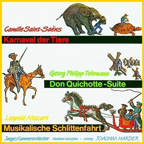 Konzert für Kinder: Karneval der Tiere / Don Quichotte-Suite / Musikalische Schlittenfahrt (Suiten Für Jungen)