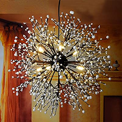 Klassischer Kronleuchter 12 Leuchten Antik Pendant Lampen Haus Decke Beleuchtung Leuchter Beleuchtungsvorrichtung,Durchmesser 31.5 Zoll