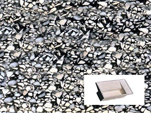 Preisvergleich Produktbild Waschbrett Waschküche CM100X 61X 32H schwarz geschliffen