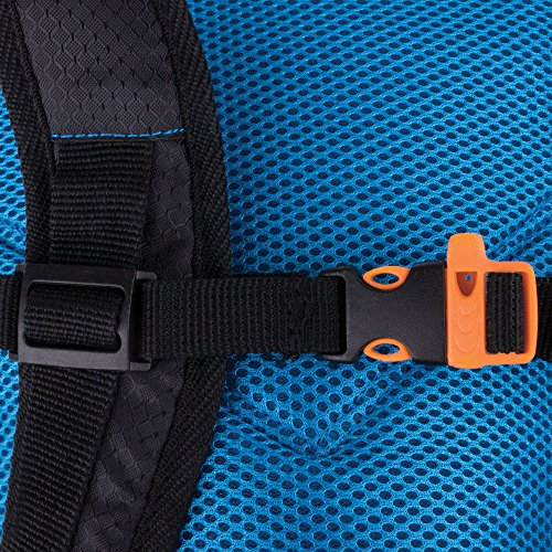 Spokey® Sprinter Rucksack - Trinkrucksack, 395gr.,Laufrucksack, Fahrradrucksack Schwarz-Blau