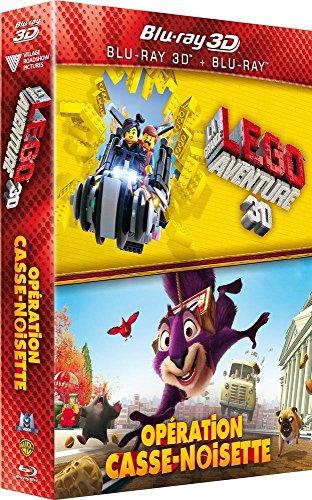 Coffret animation 2 films: la grande aventure lego ; opération casse noisette