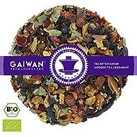 """N° 1235: Tè alla frutta biologique in foglie""""Ribes Nero"""" - 100 g - GAIWAN GERMANY - tè in foglie, tè bio, ibisco, rosa canina, liquirizia, mela, ribes, sambuco"""