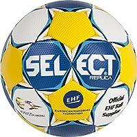 Select Handball Ultimate Replica EC Women, Todo el año, Color Blanco - Blau/Gelb/Weiß, tamaño 0